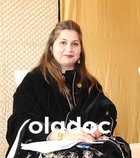 Dermatologist at Health Bridge Hospital Lahore Assist. Prof. Dr.  Ghazala Butt