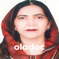 Gynecologist at King Edward Medical University & Affiliated Hospital Lahore Dr. Abida Sajid