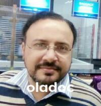 Physiotherapist at Ramzan Ali Syed  Hospital Lahore Dr. Masroor Hussain Naqvi