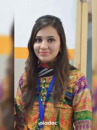 Dietitian at Rabia Trust Hospital Faisalabad Ms. Mishal Mumtaz