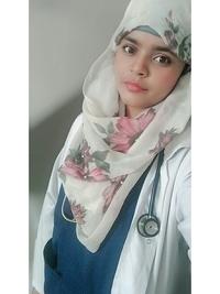 Physiotherapist at Sarf Hospital Islamabad Ms. Maria Intakhab