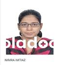 Internal Medicine Specialist at Online Video Consultation Video Consultation Dr. Nimra Imtiaz
